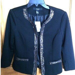 Forever 21 black beaded blazer